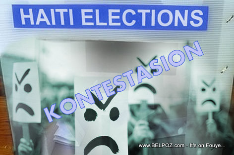 Haiti Elections - Contestation