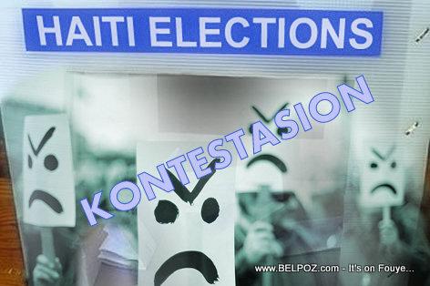 PHOTO: Haiti Elections - Contestation