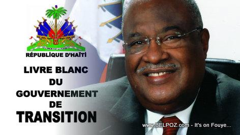 Gerard LaTortue - Livre Blanc du Gouvernement de Transition