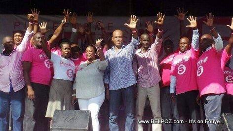 Haiti Elections - Lancement Campagne Jovenel Moise Cap-Haitien