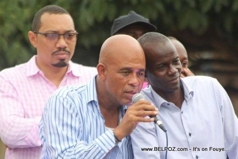 Haiti Elections - Martelly Mennen Junior Jiha bay Jovenel Moise...
