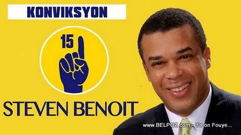 PHOTO: Haiti Elections 2015 - Steven Benoit - Candidate for President
