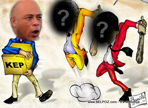 Haiti Politik - Martelly di li vle fè eleksyon, Zòt di li pa vle, se vre?
