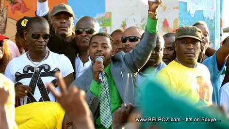 Haiti Elections - Lancement Campagne Electoral Mario Andresol