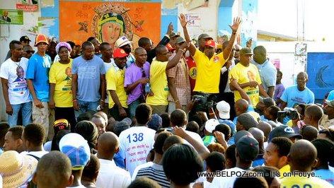 Haiti Elections - Mario Andresol Lanse Campagne Officiel li nan Delmas 2