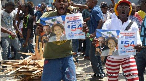 PHOTO: Haiti - Lavalas Kanpay nan Manifestation
