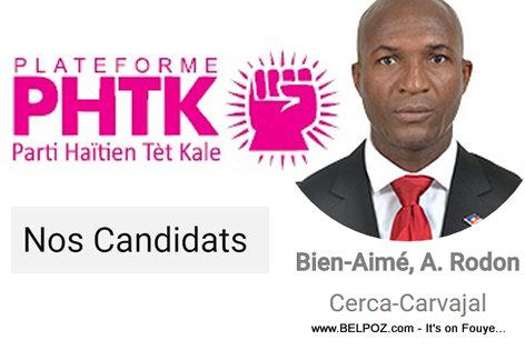 PHOTO: A. Rodon Bien-Aime - Depute Cerca-Carvajal Haiti (PHTK)
