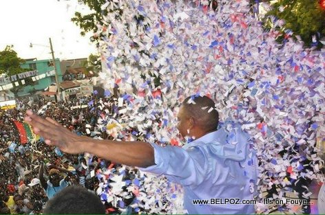 PHOTO: Haiti - Jean-Henry Ceant Lancement Campagne Bel-Air