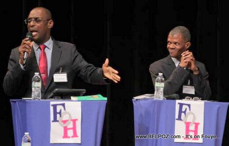 Haiti Presidential Debate in North Miami Florida