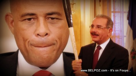 President Martelly and Danilo Medina
