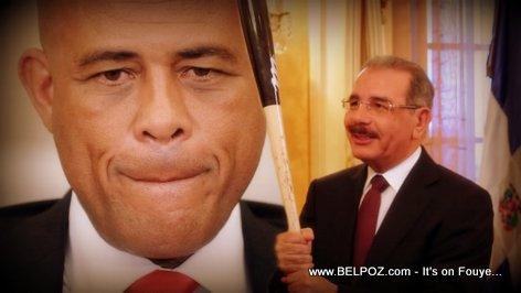 PHOTO: President Martelly and Danilo Medina