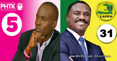 PHOTO: Haiti Elections - Jovenel Moise vs Jude Celestin
