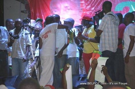 Campagne Electorale Moise Jean Charles Hinche Haiti