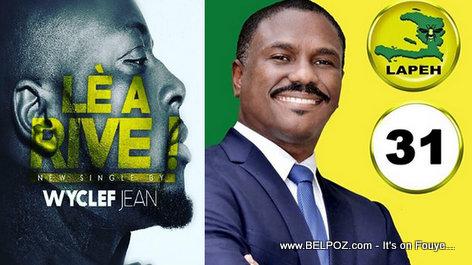 Haiti Elections 2015 - Wyclef Jean Endorses Jude Celestin