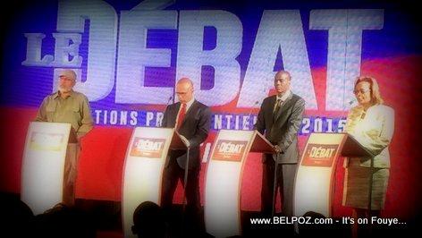 Haiti Debat Presidentielles 2015