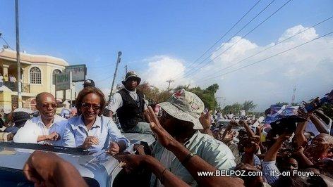 Haiti Elections - ARISTIDE Pran Lari Denye Jou Kanpay Maryse Narcisse
