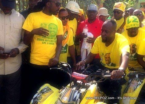 Haiti Elections - WYCLEF ap fè Kanpay pou Jude CELESTIN...