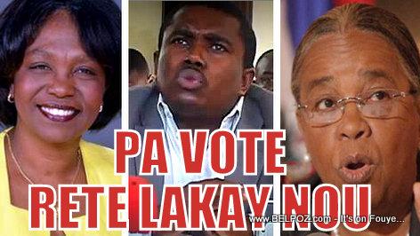 Haiti Elections - Espace de Resistance Patriotique di PA VOTE, Rete Lakay Nou