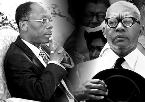 PHOTO: Francois Duvalier Vs. Jean Bertrand Aristide