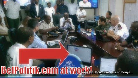 Haiti Elections - Haut Commandment La Police la Fè Information Nou Yo Konfyans, Mèsi!!!
