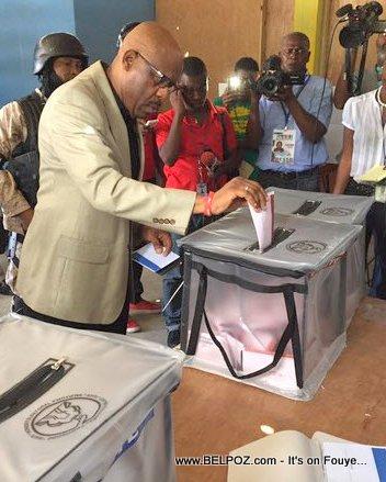 Haiti Elections - Pierre Louis Opont ap VOTE