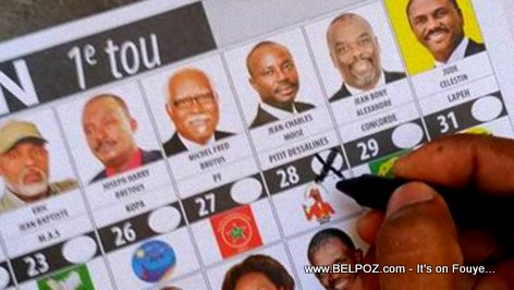1 Vote pour Moise Jean Charles - Elections Presidentiel