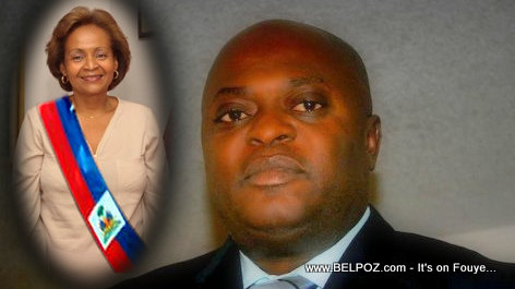 PHOTO : Haiti - Schiller Louidor Reve Maryse Narcisse President