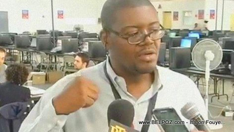 Widmack Matador, responsable du Centre de tabulation (CTV) - Elections