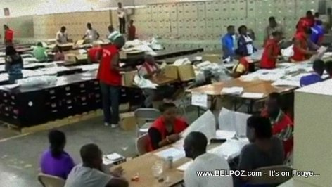 Haiti Elections - Centre de Tabulation des Votes (CTV)