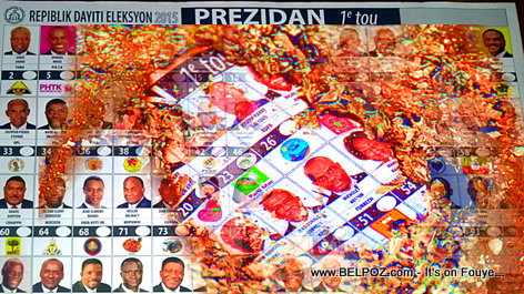 Haiti Election 2015 - Bulletins de Vote BOULE...