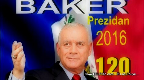 Charles-Henri Baker - Candidat a la Presidence 2015
