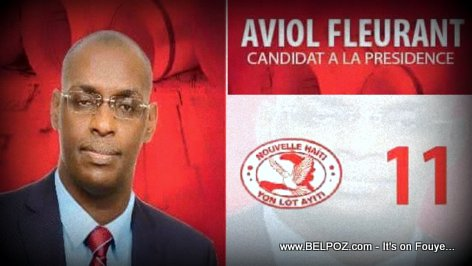 Aviol Fleurant, Candidat a la Presidence