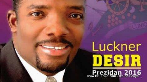 Haiti Elections - Luckner 'Louko' Desir, Candidat a la Presidence
