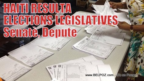 Haiti Elections - Resultat Elections Legislatives, Senateur, Depute
