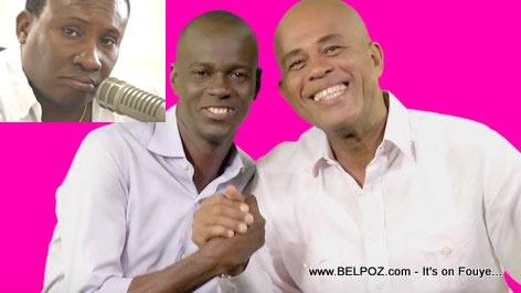 Haiti President Martelly, Jovenel Moise, Jean Monard Metellus