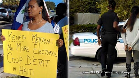 Haiti Politics - Farah Juste Arrested in Florida