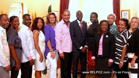 Jovenel Moise in Miami - Haiti Candidate for President