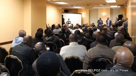 Diaspora Haitians meet with Jovenel Moise in Brooklyn New York