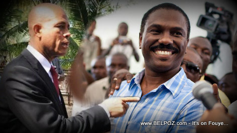 PHOTO: Haiti - President Michel Martelly,  Jude Celestin