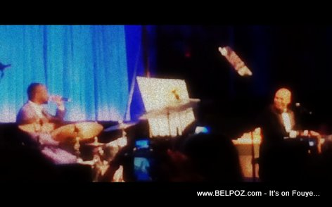 Haiti President Martelly Performing live with Wyclef at Happy Hearts Fund Gala in New York