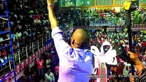 PHOTO: Haiti Elections - Jovenel Moise Campaigning in Cap Haitien, 01 Dec 2015