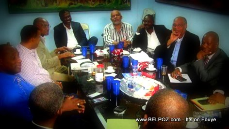 PHOTO: Haiti G8 Opposition Candidates for President