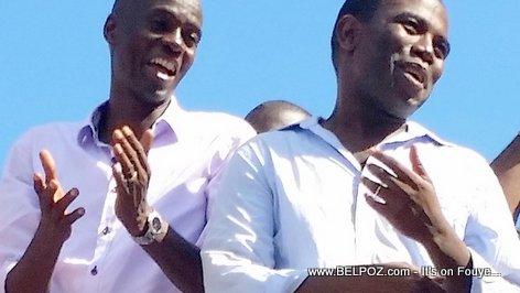 PHOTO: Haiti - Jovenel Moise nan Kanpay ak Guy Philippe