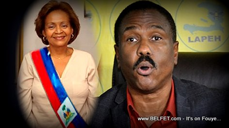 PHOTO: Haiti - Jude Celestin Sezi, Maryce Narcisse
