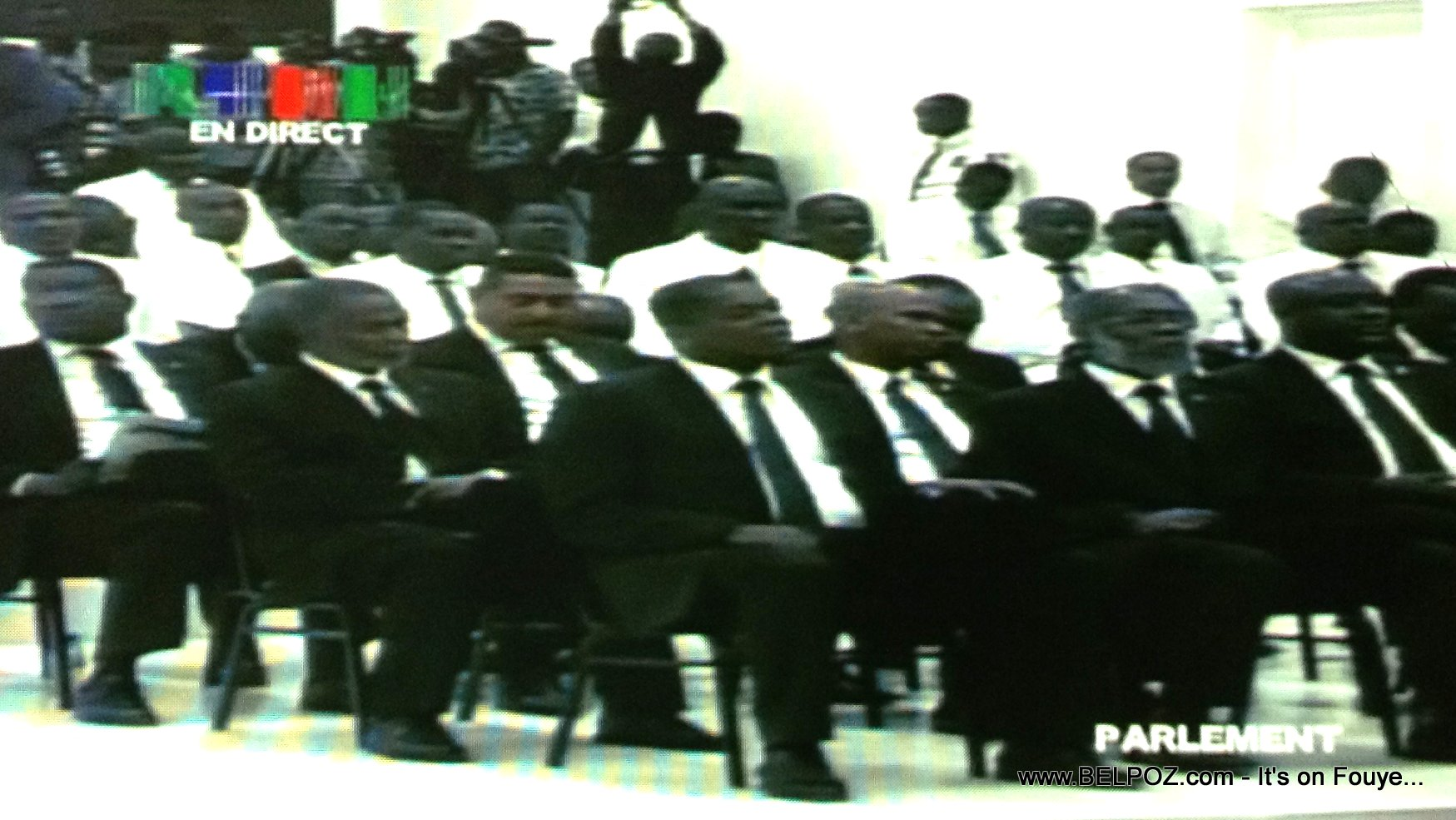 PHOTO: Haiti - Le Parlement Haitien en Assemble National