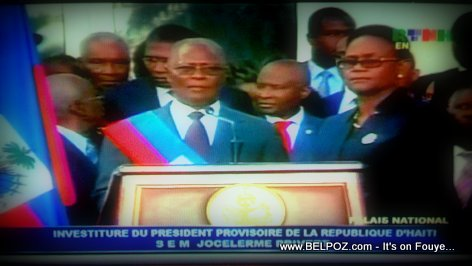 Jocelerme Privert - Provisional President of Haiti