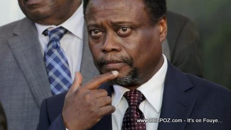 PHOTO: Haiti - Fritz Jean, former Prime Minister of Haiti