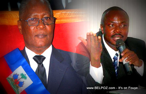 PHOTO: Haiti - Jocelerme Privert - Moise Jean Charles