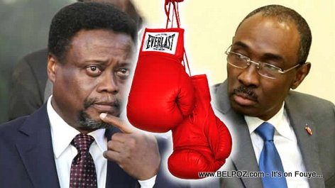 PHOTO: Haiti Politics - Fritz Jean vs Evans Paul - Battle of the Prime Ministers of Haiti