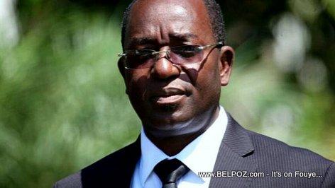 PHOTO: Wilson Laleau - Chief of Staff of Haiti president Jovenel Moise